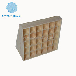 high quality wooden plain box, wooden display box, wooden packaging containers