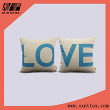 Newest Design Cheap Plain dyed cushion pillow