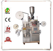 Automatic vertical tea bag with tag and string packing machine