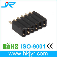 single row straight 6 pin female header PH2.0mm with cap