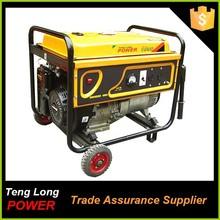 china generator company 5kva generator with ohv gasoline generator muffler spare parts for sale