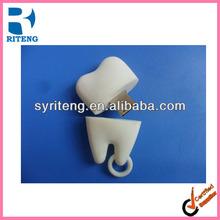 promotion bulk cheap plastic PVC cute tooth shape usb flash drive