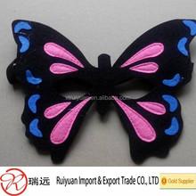 2015 hot sale!!!!customized buttlefly felt decoration mask on alibaba from Ruiyuan