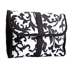 420D nylon folding travel toiletry bags, foldable nylon gifts bags, fold up nylon travel bag