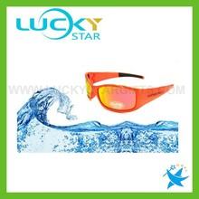 Orange Sports sunglasses high quality floating sunglasses driving outdoor sun glasses 2015 hot