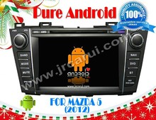 FOR MAZDA 5 (2012) Android 4.4 audio car system RDS,Telephone book,AUX IN,GPS,WIFI,3G,Built-in wifi dongle
