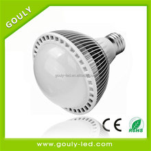 super brightness wholesale e27 led par30 CE RoHS EMC approval AC85-265V,green healthy grow light