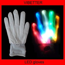 Christmas Gift Item Rave Party Favor Flashing LED Gloves Wholesale China