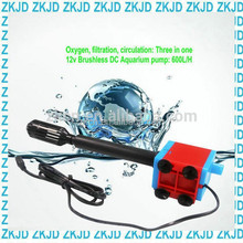 Zp-s600 dc brushless electric fish tank water pump solar aquarium tank production