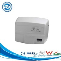Plastic Bathroom Touchless Sensor Hand Dryer