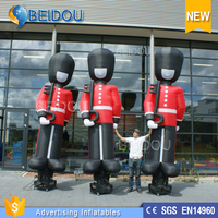 New Design Used Cheap Custom Soldier Mini Inflatable Air Sky Dancer for Advertising
