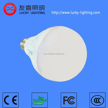 Lowest cost e27 white color 9w bulb led lights