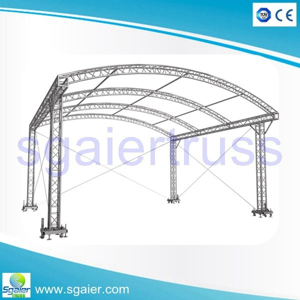 2015 New Design Light Aluminium Structure Roof Truss Buy