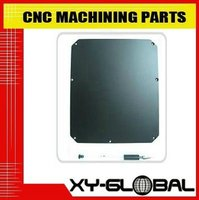 Mirror polished and black powder coated aluminum alloys casting and CNC milling mechanical case
