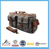 Fashion style durable travel canvas duffel bag for men