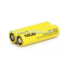 Original MXJO IMR 18650 3000mah 20A 3.7v flat top rechargeable battery