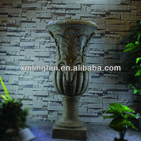Classical Style Personalized Large Flower Pots For Sale