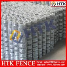 Hebei HTK galvanized steel farm fence gate