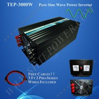 marine 3000w power inverter 12v 24v dc to ac 110v 220v 230v pure sine wave inverter