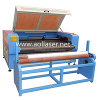 laser cutting machine, laser garment large cutting table with auto feeding
