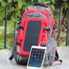 modren 6.5W sunpower solar backpack for traveller and camping