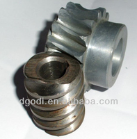 customized worm gears of meat grinder, meat grinder gears, metal gears for meat grinder