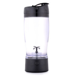 Hot new item water bottle mixer protein shaker, protable household battery mixer cup