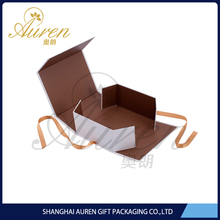 Cardboard paper folding box for presentation