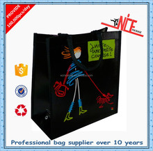 young people style non woven shopping bag
