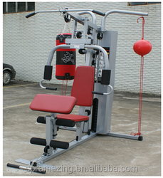 Multi gym equipment for sale/3 station home gym with boxing sandbag and speed ball AMA7000F