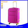 Beautiful lady nylon oxford new luggage bag hot sales travel luggage bag 2 pieces a set
