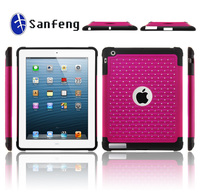 Studded diamond christmas protector jellycase for ipad 5 macbook air