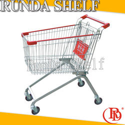 american made wire shopping cart foldable three wheels