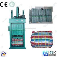 Clothing baler / baling press machine