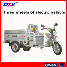 Comfortable three wheel electric used tricycle for sale