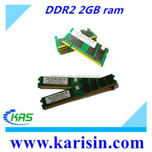 Factory price desktop/laptop memory ddr2 ram 2gb 533mhz 667mhz 800mhz in good condition