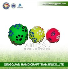 BSCI QQFactory eco-freindly ball dog toy / hot sale dog toys factory pet