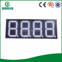 Hihg brightness petrol station low voltage gas price board