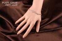 pth172 новых cz алмазов микро проложить Цепочка Браслеты & Браслеты золото 18k позолоченный кристаллические ювелирные изделия для мужчин и женщин Бижутерия