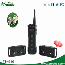 Hot Sale in Europe Country !!! electric dog shock collar for training Aetertek AT-919
