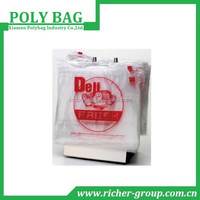 Plastic Custom Printed Wicket Bags for Newspaper Carry