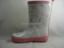 Baby rain shoes soft rubber boots