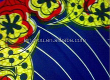 Hot Selling African Real Wax Prints Dutch Cotton Wax Fabric