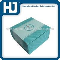 The folding packing box for 6 pcs Mini cakes