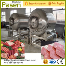 Good performance vaccum meat and vegetable rolling machine   fish beef vaccum tumbler machine