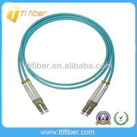 High quality LC-LC OM3 Duplex Fiber optic patch cord