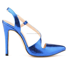 Fashion 2015 adjustable high heel dress shoes for ladies