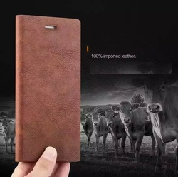 Magnetic PU Leather Flip Stand Case Cover For iPhone 6 6S Holster Cover