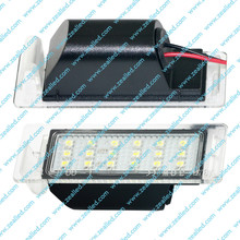18SMD LED License Plate Light For Opel, Chevrolet, Cadillac, Buick, GMC