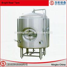 brillante tanque de cerveza para mini fábrica de cerveza